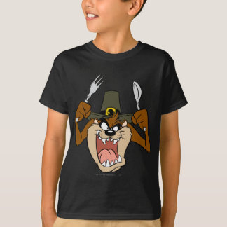 TAZ™ Pilgrim Thanksgiving in Color T-Shirt