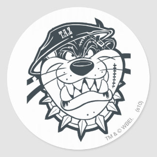 TAZ™ - Rebel 8 Classic Round Sticker
