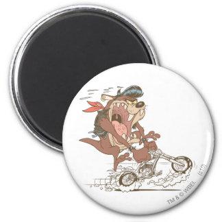 TAZ™ Slick Hog 6 Cm Round Magnet