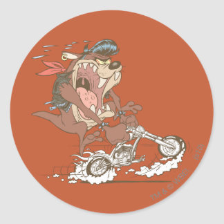 TAZ™ Slick Hog Classic Round Sticker