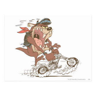 TAZ™ Slick Hog Postcard