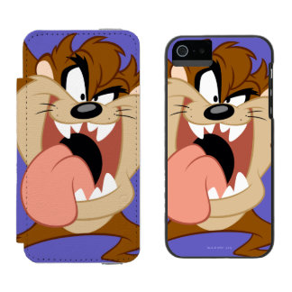 TAZ™ | Sticking His Tongue Out Incipio Watson™ iPhone 5 Wallet Case