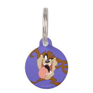 TAZ™ | Sticking His Tongue Out Pet ID Tag