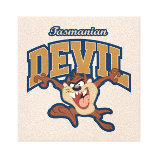 TAZ™ Tasmanian Devil Patch Canvas Print