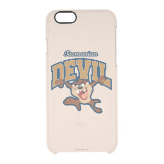 TAZ™ Tasmanian Devil Patch Clear iPhone 6/6S Case