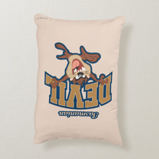 TAZ™ Tasmanian Devil Patch Decorative Cushion