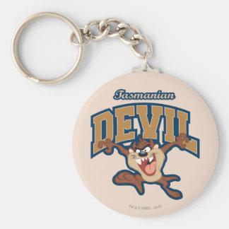 TAZ™ Tasmanian Devil Patch Key Ring