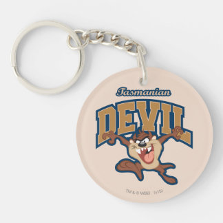 TAZ™ Tasmanian Devil Patch Key Ring