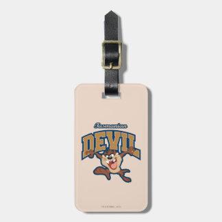 TAZ™ Tasmanian Devil Patch Luggage Tag
