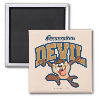 TAZ™ Tasmanian Devil Patch Magnet