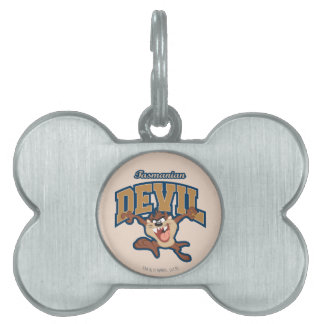 TAZ™ Tasmanian Devil Patch Pet ID Tag