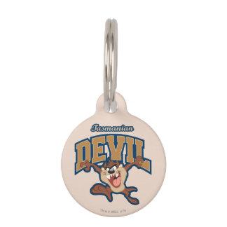 TAZ™ Tasmanian Devil Patch Pet Name Tags