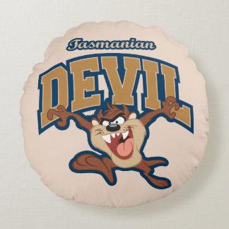 TAZ™ Tasmanian Devil Patch Round Cushion