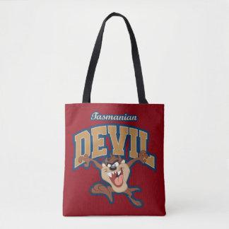 TAZ™ Tasmanian Devil Patch Tote Bag