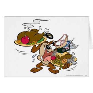TAZ™ Thanksgiving Plates Card