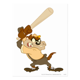 TAZ™ The Home-Run Slugger Postcard