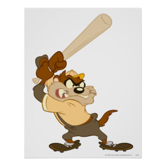 TAZ™ The Home-Run Slugger Poster