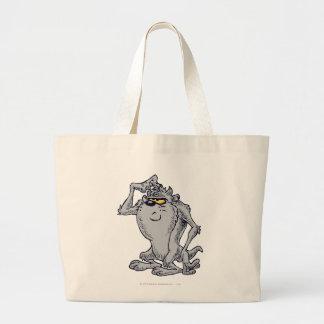 TAZ™ Thinking Artistic Design Large Tote Bag