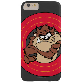 TAZ™ Through LOONEY TUNES™ Circles Barely There iPhone 6 Plus Case