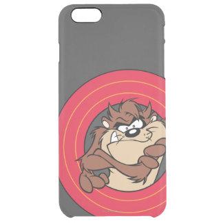 TAZ™ Through LOONEY TUNES™ Circles Clear iPhone 6 Plus Case
