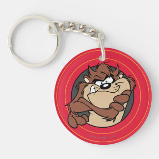 TAZ™ Through LOONEY TUNES™ Circles Key Ring