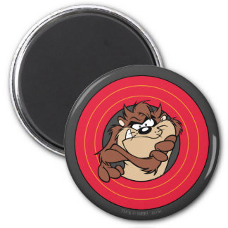 TAZ™ Through LOONEY TUNES™ Circles Magnet