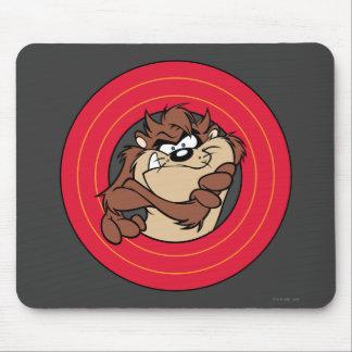 TAZ™ Through LOONEY TUNES™ Circles Mouse Mat
