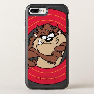 TAZ™ Through LOONEY TUNES™ Circles OtterBox Symmetry iPhone 8 Plus/7 Plus Case