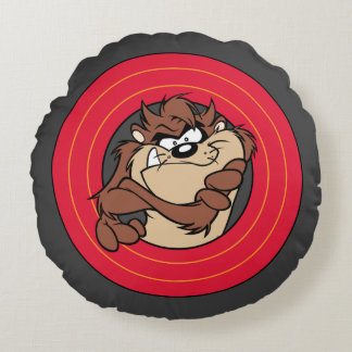 TAZ™ Through LOONEY TUNES™ Circles Round Cushion