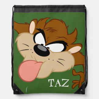 TAZ™ Tongue Out Drawstring Bag