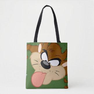 TAZ™ Tongue Out Tote Bag