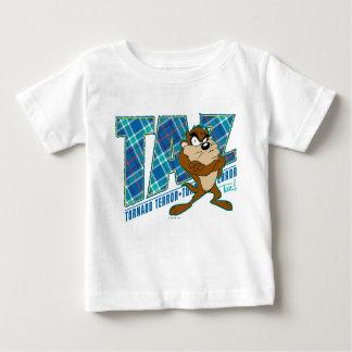 TAZ™ Tornado Terror Plaid Baby T-Shirt