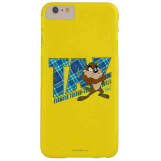 TAZ™ Tornado Terror Plaid Barely There iPhone 6 Plus Case