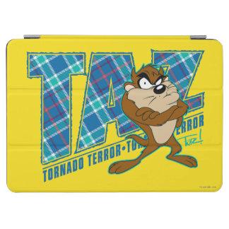 TAZ™ Tornado Terror Plaid iPad Air Cover