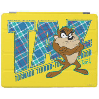 TAZ™ Tornado Terror Plaid iPad Cover