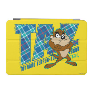 TAZ™ Tornado Terror Plaid iPad Mini Cover