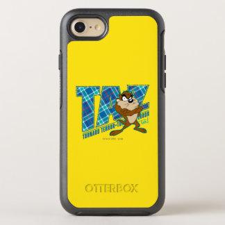 TAZ™ Tornado Terror Plaid OtterBox Symmetry iPhone 8/7 Case