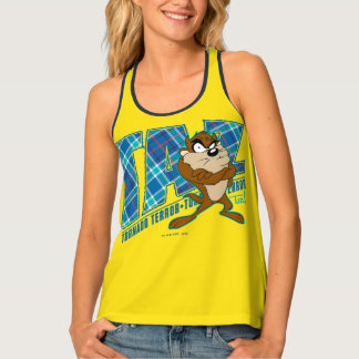 TAZ™ Tornado Terror Plaid Tank Top