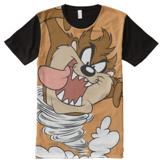 TAZ™ Whirling Tornado All-Over Print T-Shirt
