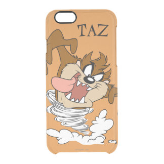 TAZ™ Whirling Tornado Clear iPhone 6/6S Case