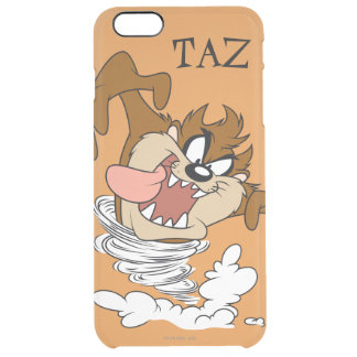 TAZ™ Whirling Tornado Clear iPhone 6 Plus Case