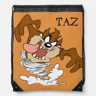 TAZ™ Whirling Tornado Drawstring Bag