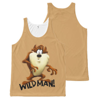 TAZ™- Wild Man All-Over Print Tank Top