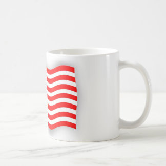 Taza con bandera de Norte América