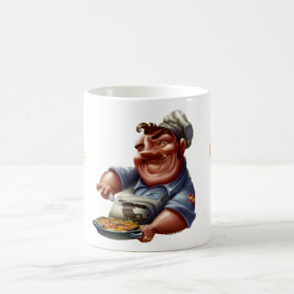 Taza del Chef de Cocina Española con Paella - M2