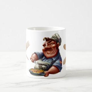 Taza del Chef de Cocina Española con Paella - M3