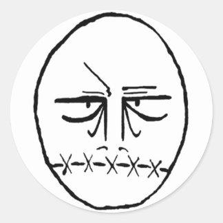 TB Logo Round Sticker