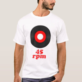 TBA 45 rpm T-shirt