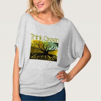 TBA AWARD WINNER! Think Green Roots T-Shirt -