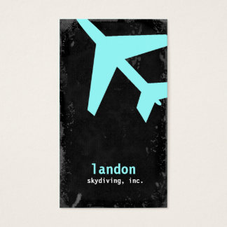 TBA-GC | AVIATION TAKE OFF BLUE BUSINESS CARD
